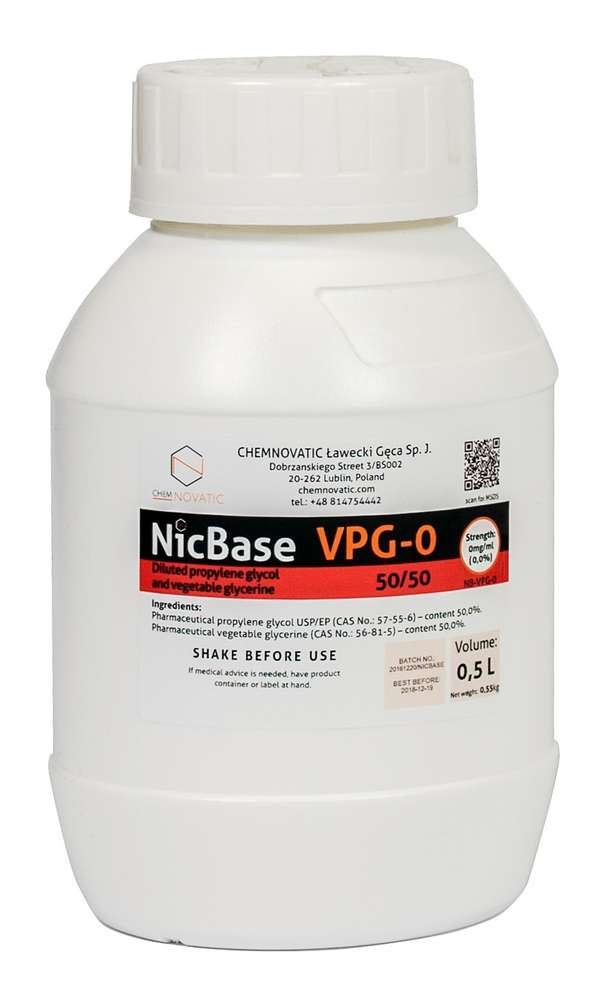 Base VG/PG 50/50 500ml Chemnovatic