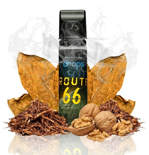 Drops - Route 66 - 50 ml 0 mg