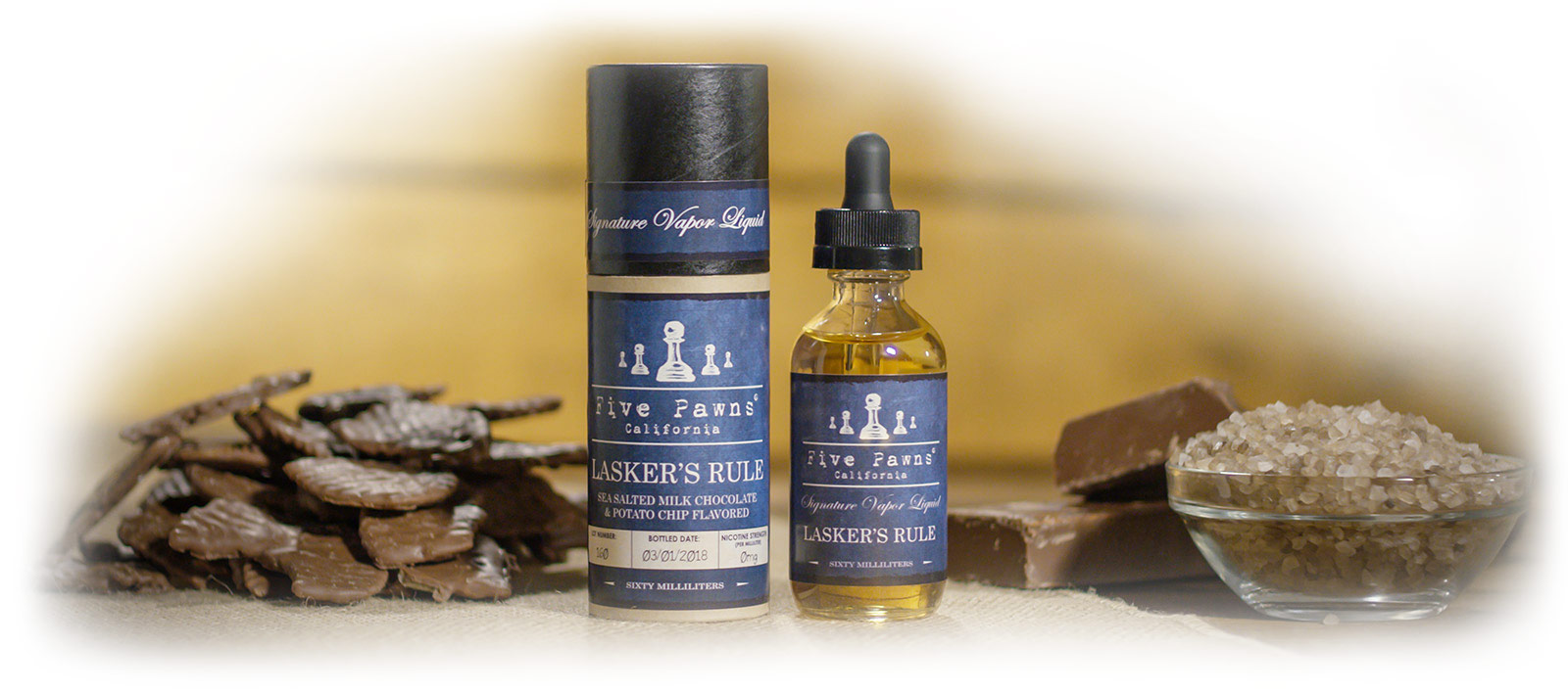 LASKER´S RULE - FIVE PAWNS 50ML (BOOSTER) (promoção exclusiva online e limitada ao stock existente*)